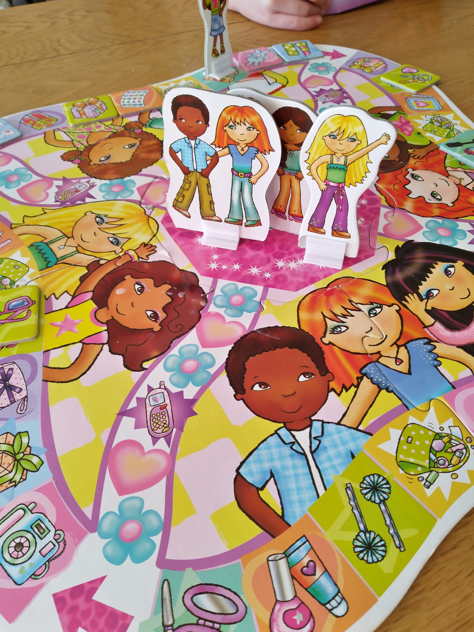 "Orchard Toys board game ""Party Party Party"", played today with Emily and Daniel"